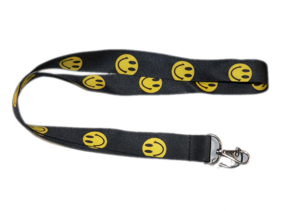 Smiley Face Lanyard