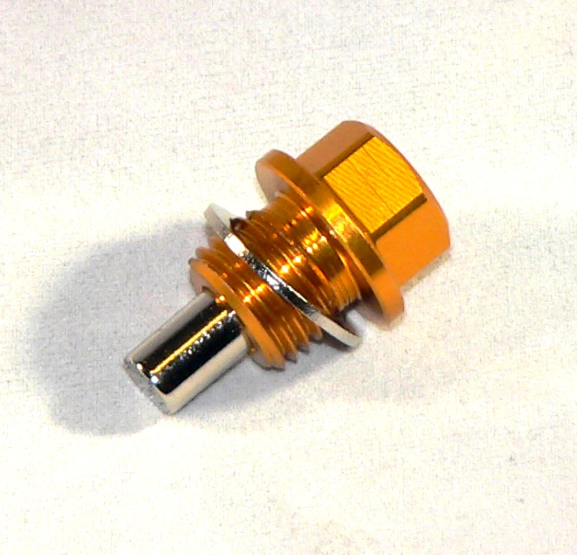 M14x1.5 Gold Magnetic Oil Plug